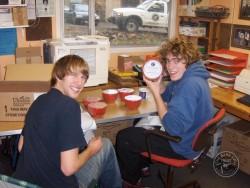 Volunteers In BOT Office Christmas