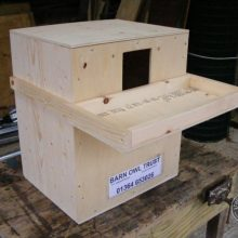 Indoor Barn Owl Nestboxes Deep Box Complete