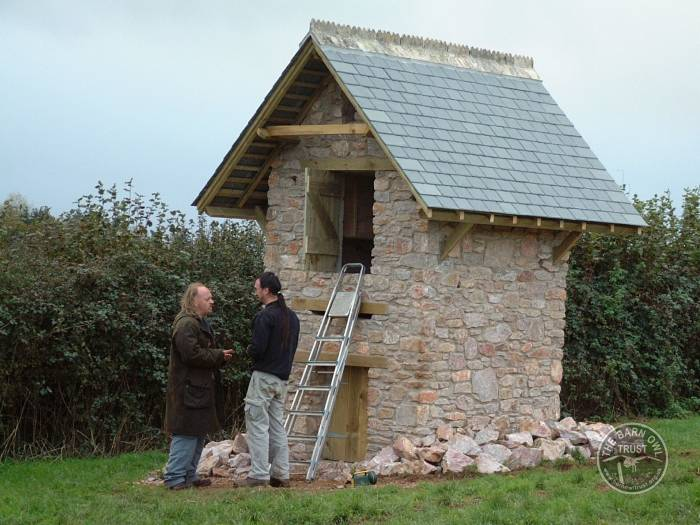 Comedian Bill Bailey with a wildlife tower - The Barn Owl ...
